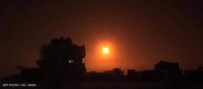 غارة سابقة على سوريا  مقتل مسلحين بضربات صاروخية إسرائيلية