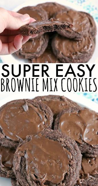 Easy Brownie Cookies