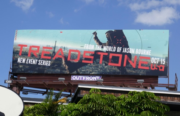 Treadstone series premiere billboard