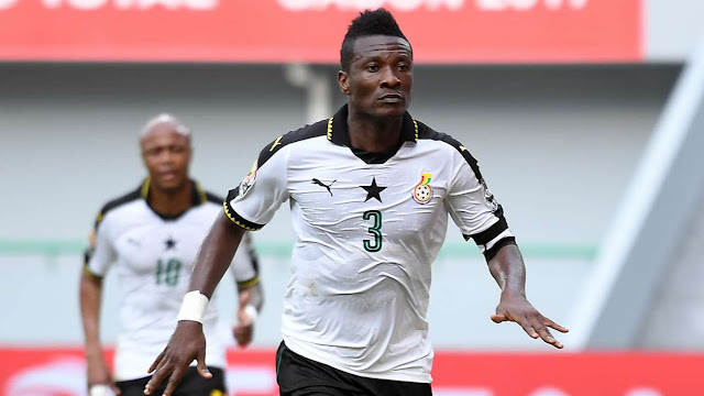 Ghana vs Mali [1:0] - Africa Cup of Nations, GABON 2017 - Asamoah Gyan's Goal Video