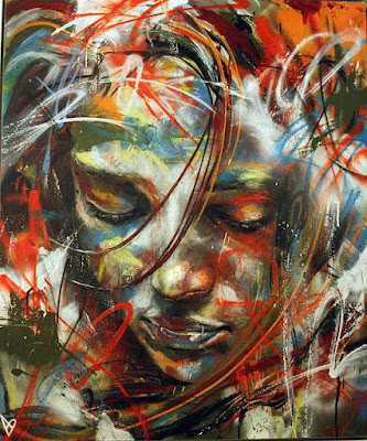 Gambar Lukisan Wanita Keren