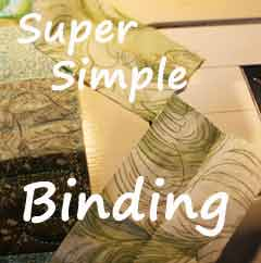 simple way to join binding ends