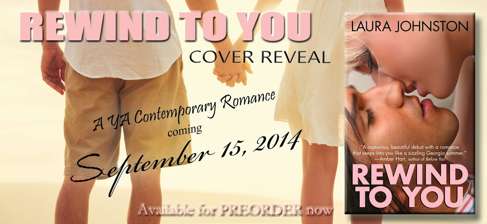 Cover Reveal & GIVEAWAY — Rewind to You by Laura Johnston