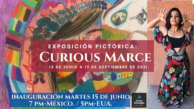 Primera Exposición Pictórica: Umbrales de Curious Marce.