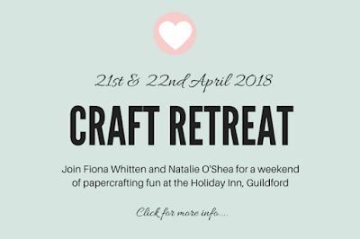 Papercrafts, weekend away, Stampin' Up!, crafty fun, cardmaking