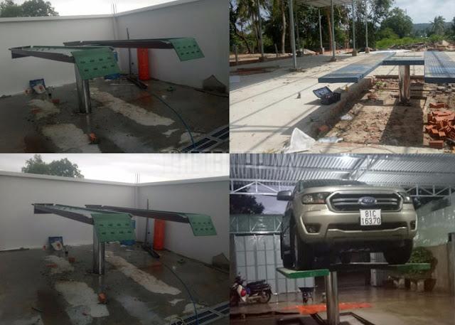 lợi ích của cầu nâng rửa xe, cầu nâng 1 trụ rửa xe đối với ngành rửa xe, cầu nâng rửa xe âm nên