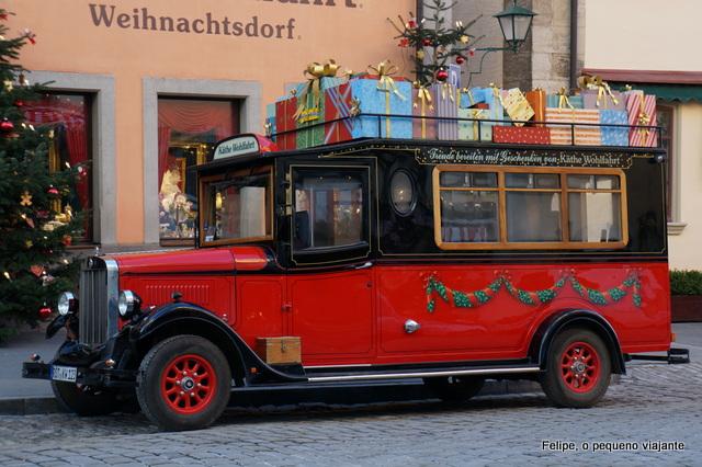 Rothenburg ob der Tauber Rota Romântica Alemanha