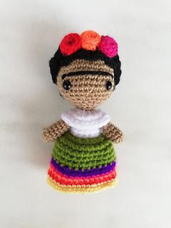 Free Frida Kahlo crochet