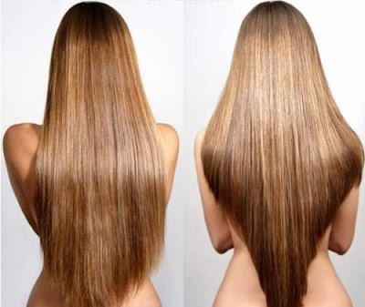 Model Rambut Segi V