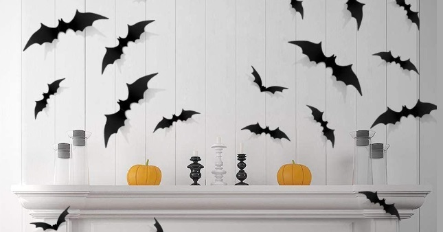 SAVE 45% off Halloween Decal Wall Sticker Set on Amazon