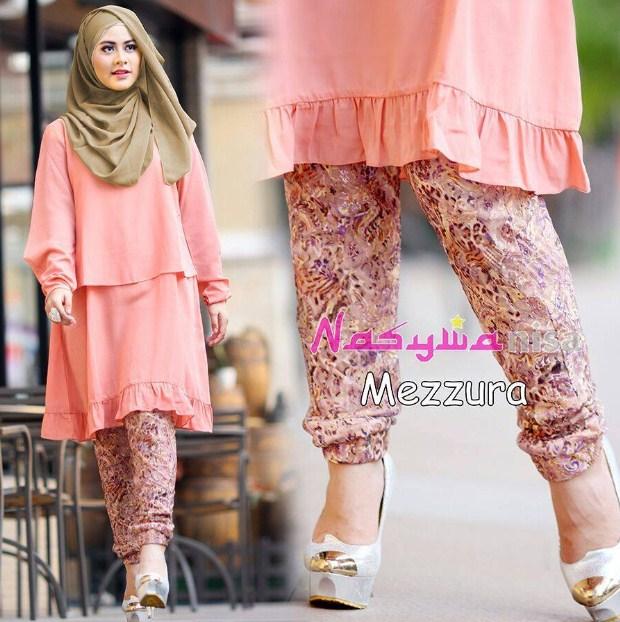 Style Fashion Baju Muslim Untuk Wanita Kurus Model Baru Model