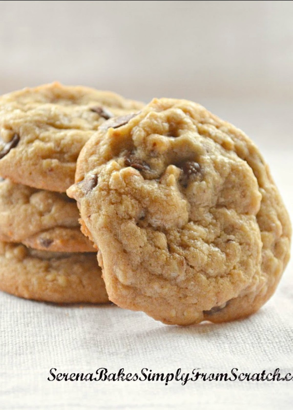 The Best Chocolate Chip Cookie Recipe are soft and chewy with a crispy edge! Perfect Chocolate Chip Cookies every time from Serena Bakes Simply From Scratch.