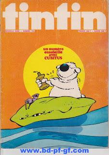 L'Hebdoptimiste, Tintin numéro 134, 1975