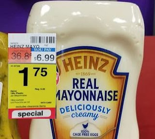 cvs couponers FREE Mayonnaise CVS Deal 825-831