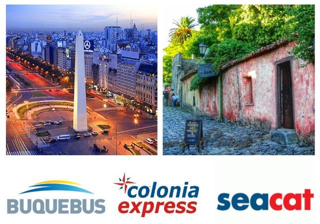 Como ir de Buenos Aires a Colonia del Sacramento