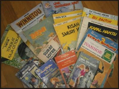 foto-koleksi-buku-cerita-dongeng-komik-jakarta
