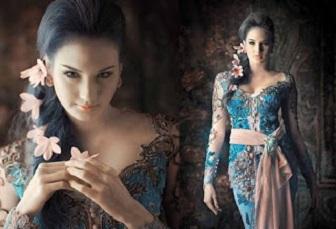 Model Kebaya Kerah Sabrina Cocok Buat Kamu Yang Punya Bahu Bidang