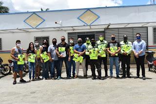 Guarabira: STTrans empossa novos agentes e faz entrega de fardamento a corporação