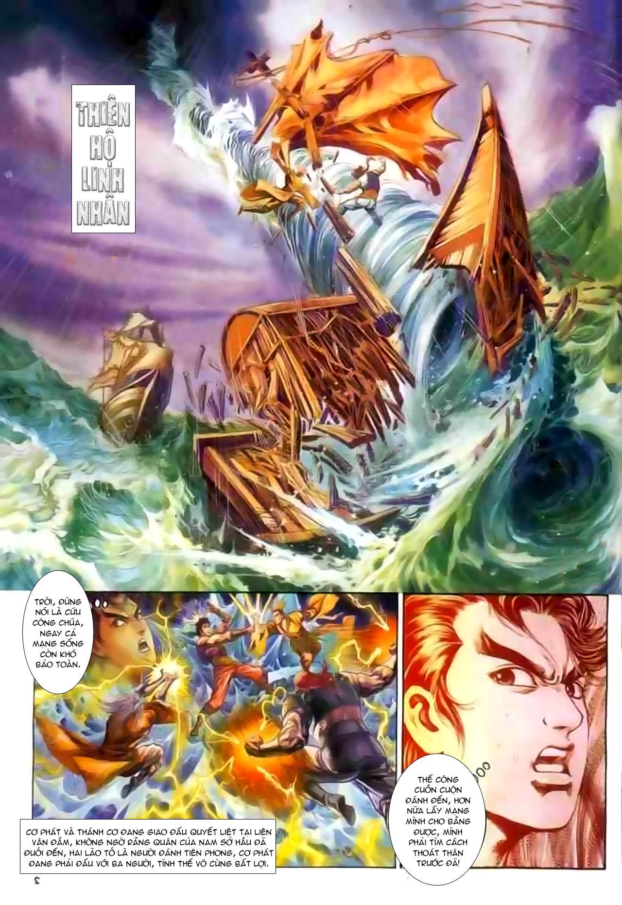 Cơ Phát Khai Chu Bản chapter 129 trang 3