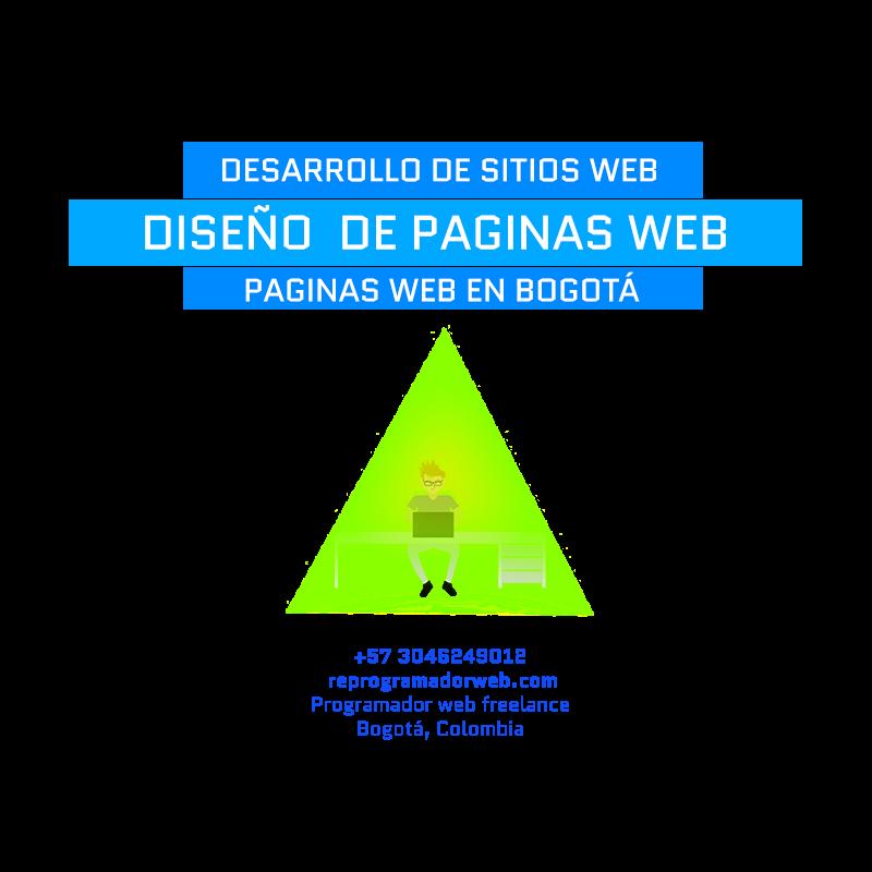 Diseño de  paginas web en  Bogota  Colombia
