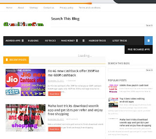 Best seo redy ads redy free blog template