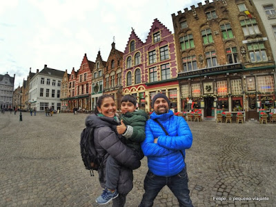 Bruges: um conto de fadas belga - viajando de motorhome pela Bélgica