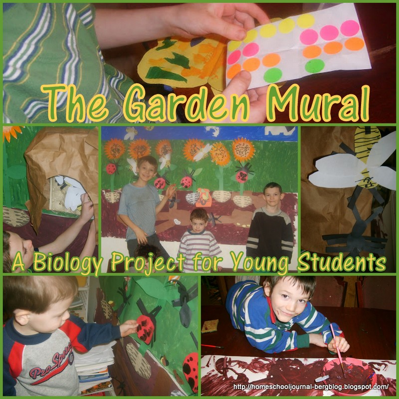 Beautiful Home Part 1: All Things Beautiful: Garden Mural Project, Part 1: A