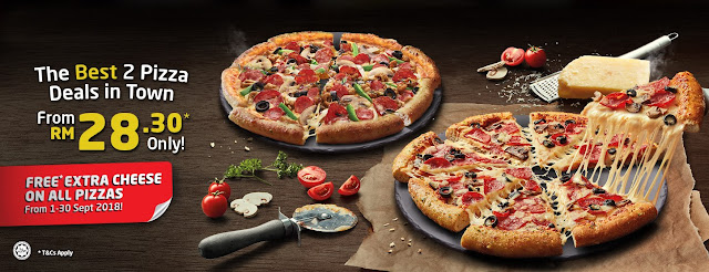 Domino's Spreads Love with Free Extra Cheese For All Pizzas