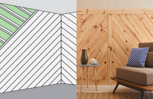 Marzua revestimientos de paredes rastrelados for Friso madera pared