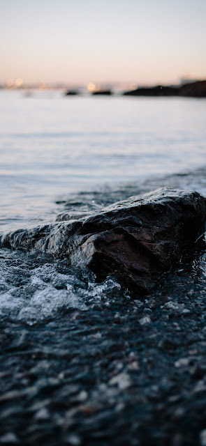 mare, scoglio, onde