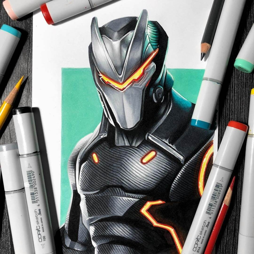 06-OMEGA-from-Fortnite-Stephen-Ward-Movie-and-Comics-Superheroes-and-Villains-Drawings-www-designstack-co
