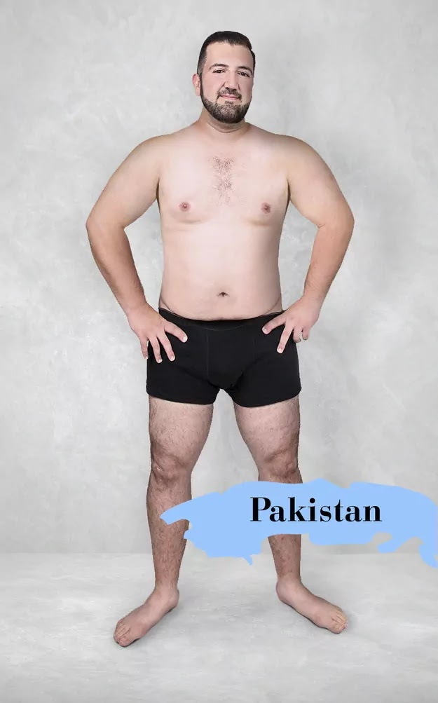 19 Countries Photoshop One Man To Compare Beauty Standards Across The World