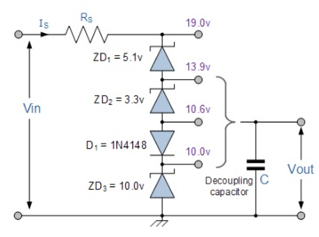 Tutorial De Diodos Zener Como Regulador De Voltaje Tutoriales De Electrónica Básica