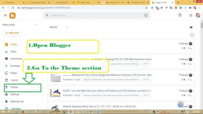 How to remove m=1 from blogger? |Remove m=1 from blog url