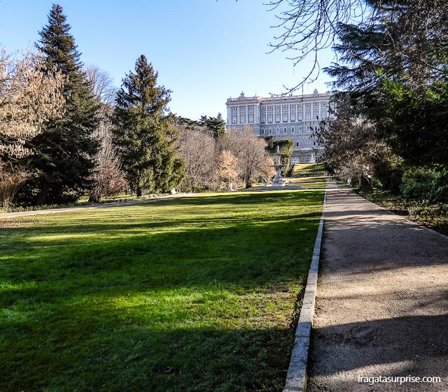 Madri, Campo del Moro e Palácio Real