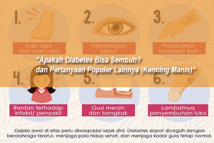 Apakah Diabetes Bisa Sembuh? dan Pertanyaan Populer Lainnya (Kencing Manis)