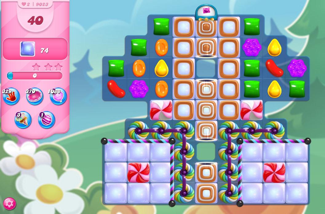 Candy Crush Saga level 9023