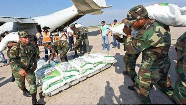 """""""Si antes éramos hermanos, ahora lo somos más"""": Envía Bolivia toneladas de ayuda a México"""