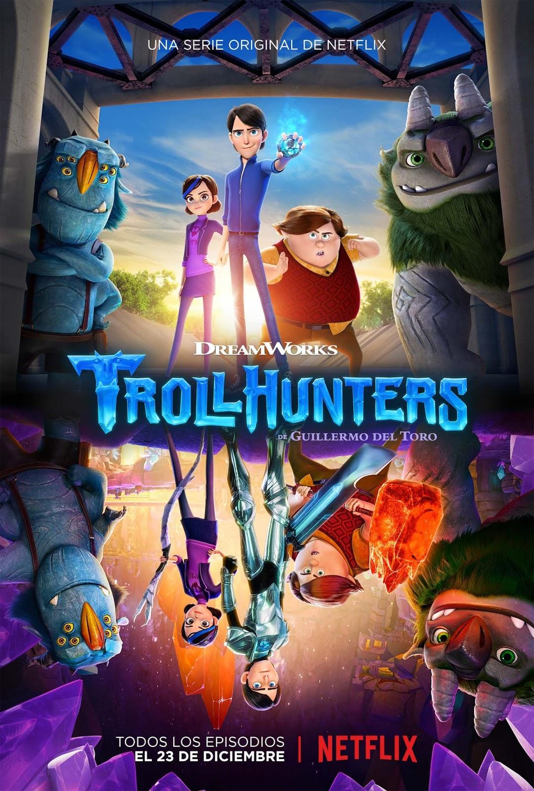 Trollhunters Serie Completa Latino 720p