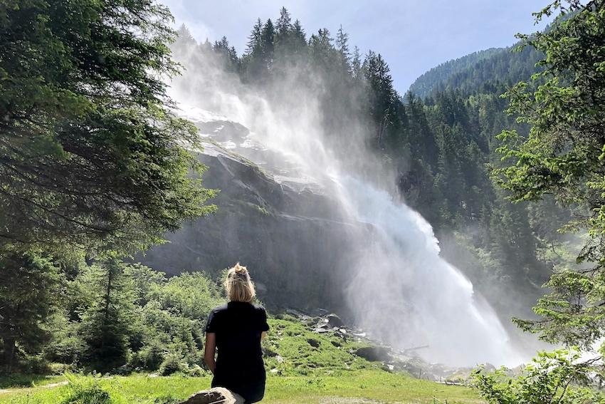 Sonja Bruckner Krimmler Wasserfälle