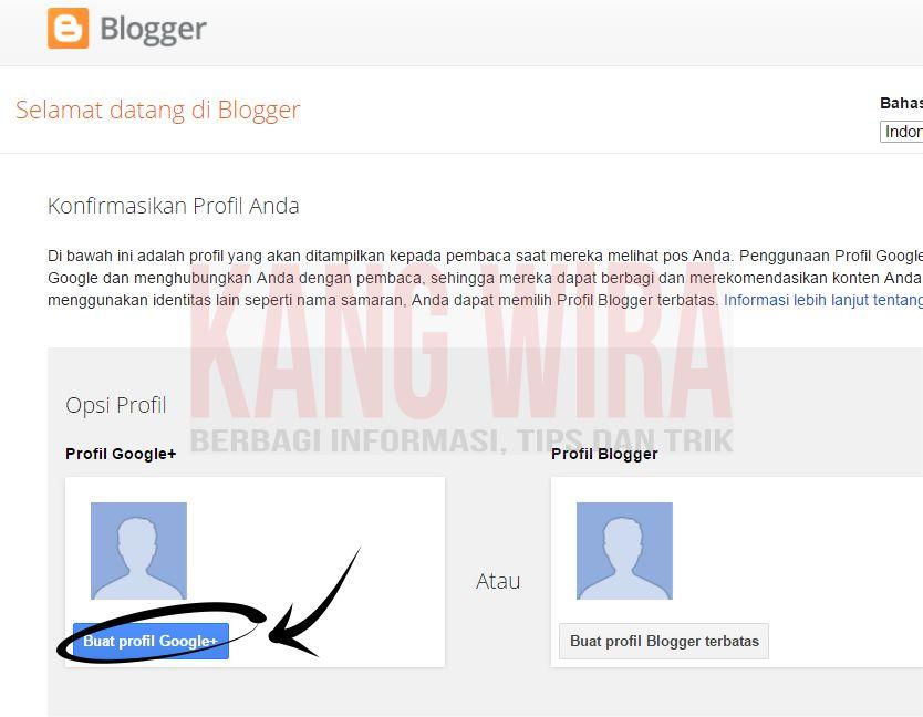 Cara Membuat Blog dari Blogger 2