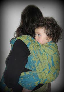 babywearing wrap écharpe portage volgasling mesolithic carry