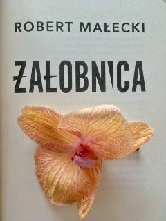 """usychający kwiat, jakże pasujący do """"Żałobnicy"""" Roberta Małeckiego, fot. paratexterka ©"""