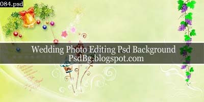 Wedding Photo Editing Psd Background Download