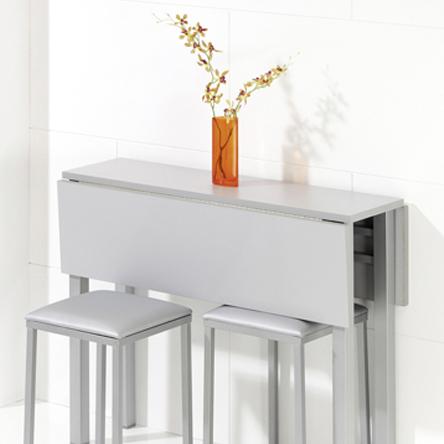 Dormitorio muebles modernos mesas de cocina pequenas - Mesa abatible cocina ...