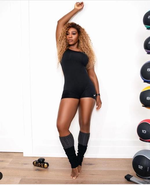 Serena Williams: Legs day!