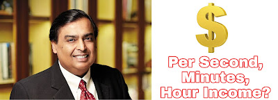 1.20 Crore Rupees Per Hour by Mukesh Ambani | Earnings of Mukesh Ambani, You will be Shocked !