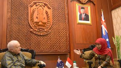 Terima Dubes Australia, Gubernur Jatim Ajak  Kerjasama Pendidikan Vokasi dan Kemaritiman