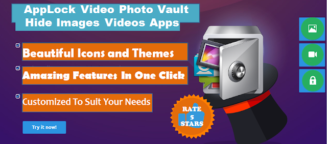AppLock Video Photo Encrypt Vault