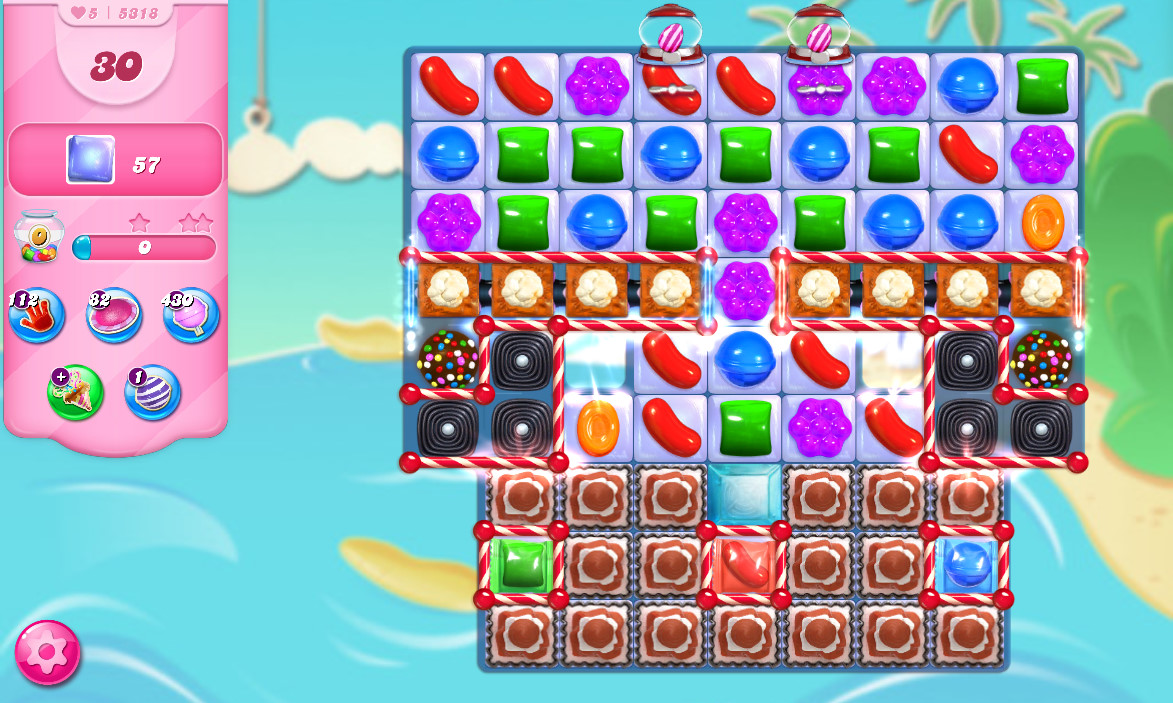 Candy Crush Saga level 5318